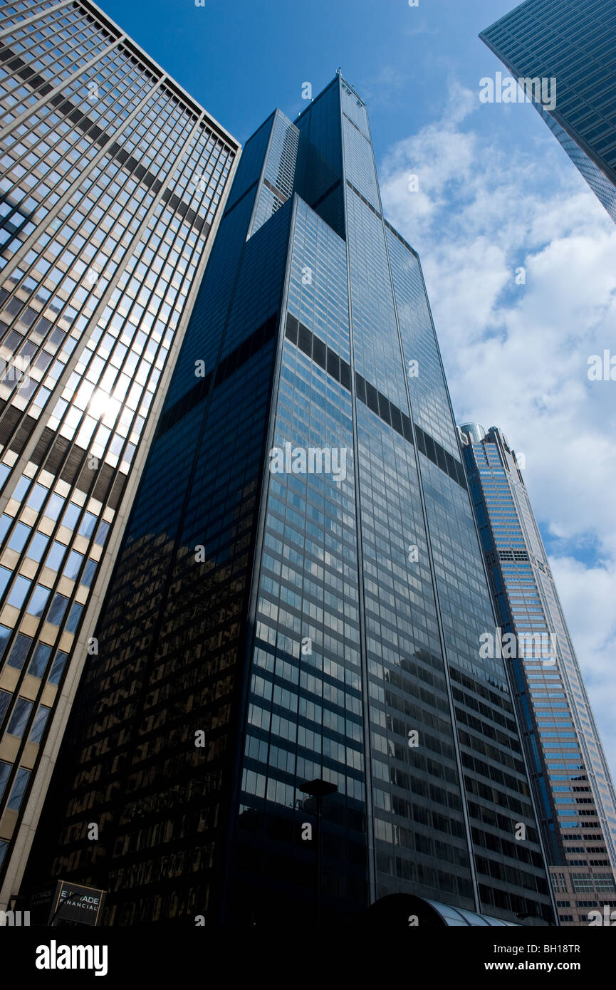 Willis Tower Formerly Sears Tower In Chicago Illinois
