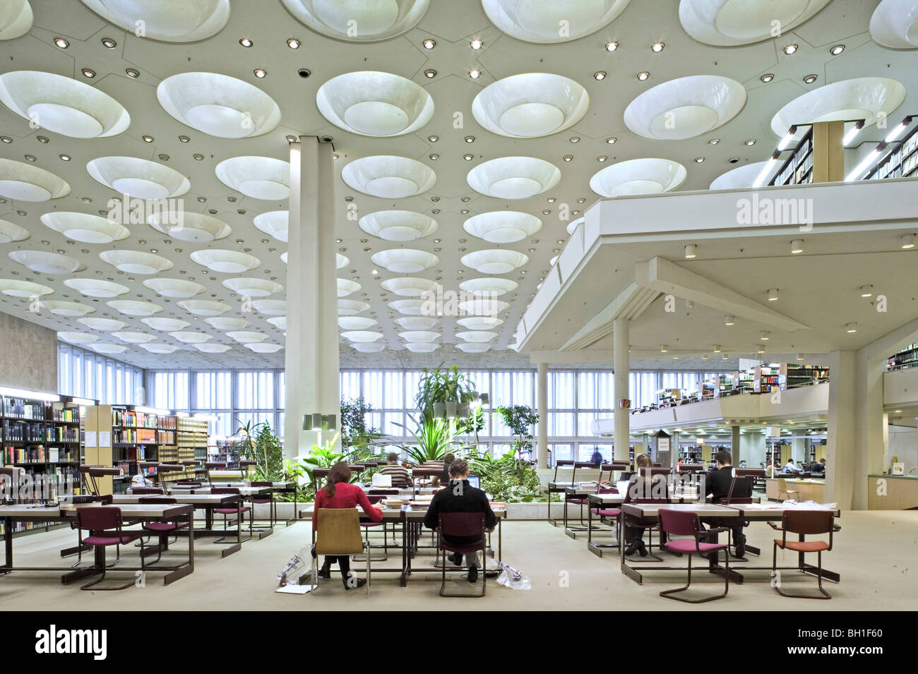 interior view of the berlin state library berlin germany. Black Bedroom Furniture Sets. Home Design Ideas