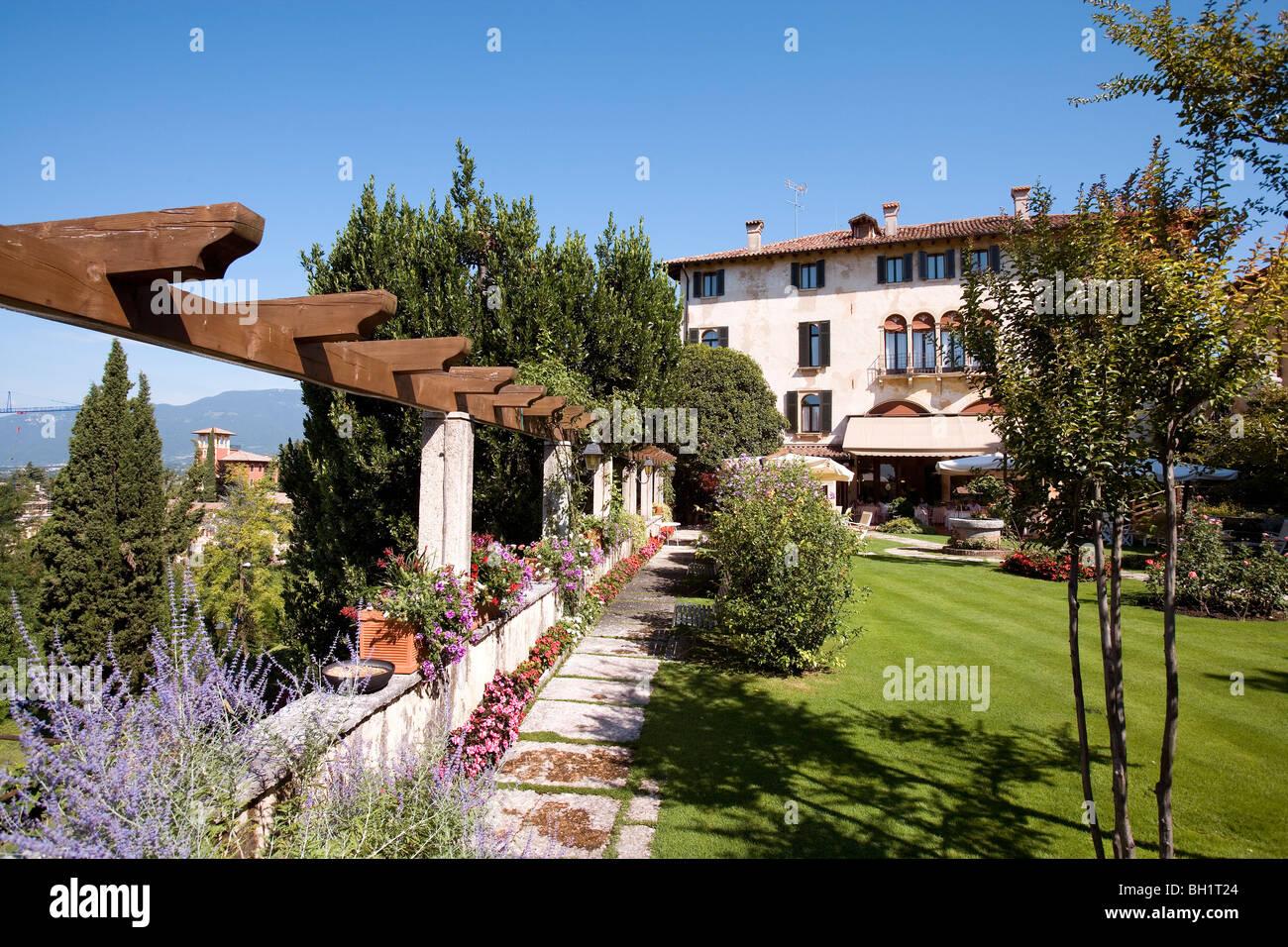 hotel villa cipriani asolo veneto italy stock photo