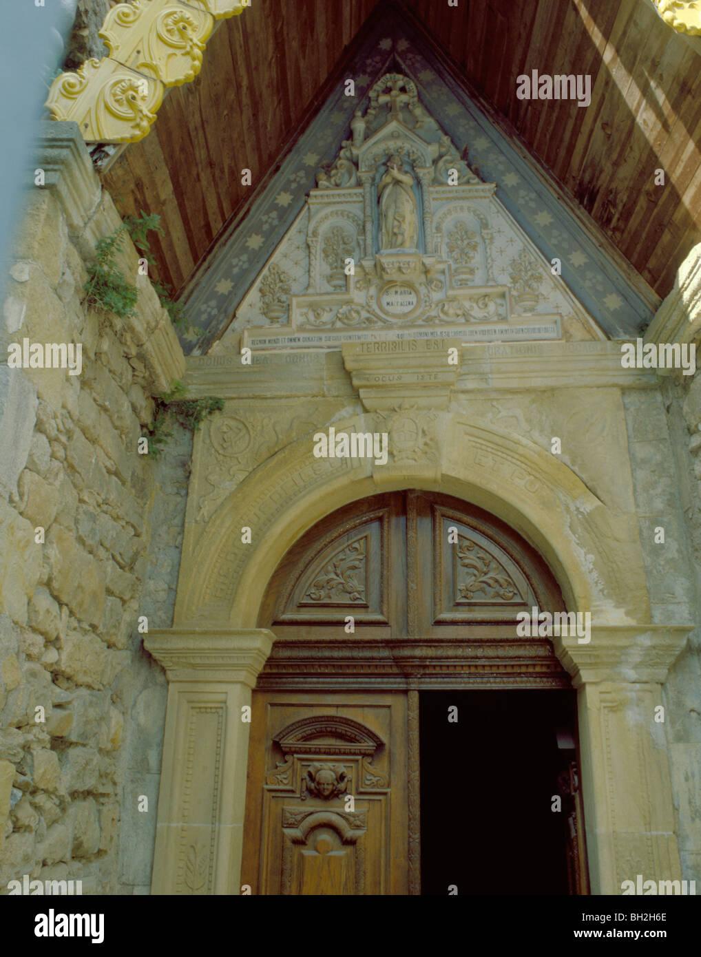 Quot Terribilis Est Locus Iste Quot Inscription Over Door Eglise
