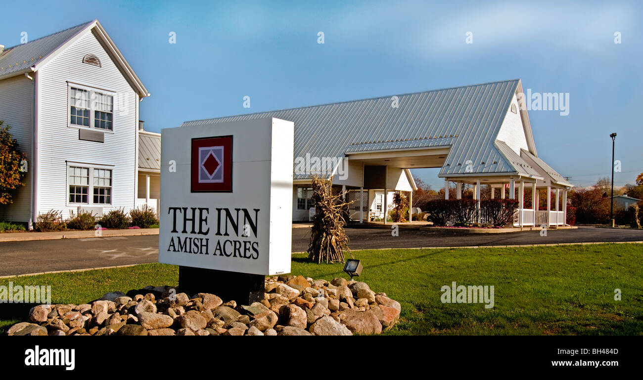 The Inn At Amish Acres In Nappanee, Indiana   Stock Image