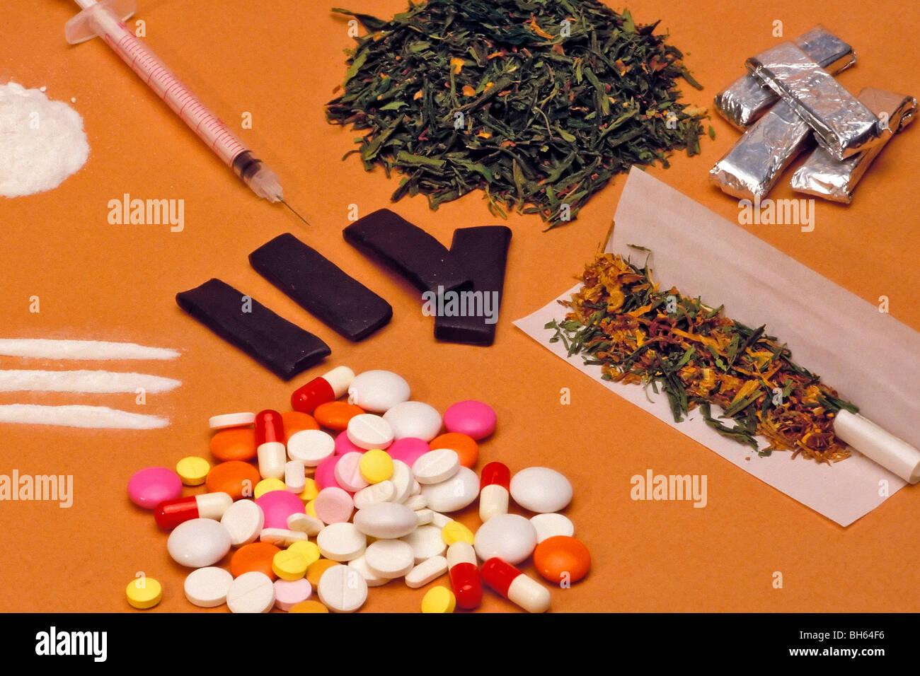 Hard Drugs Stock Photos & Hard Drugs Stock Images - Alamy