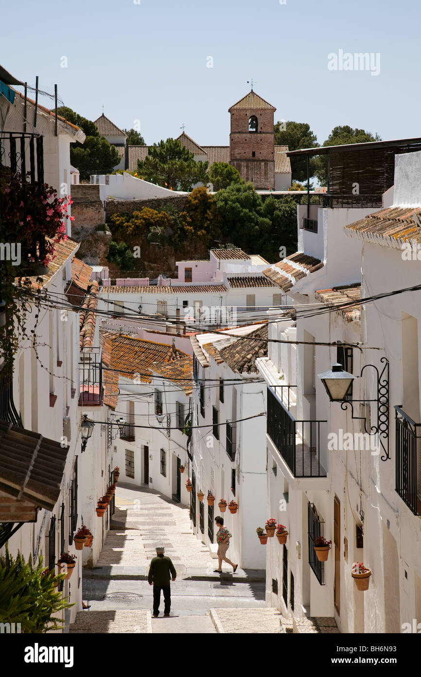 Calle t pica pueblo blanco de mijas costa del sol m laga for Calle palma del rio malaga