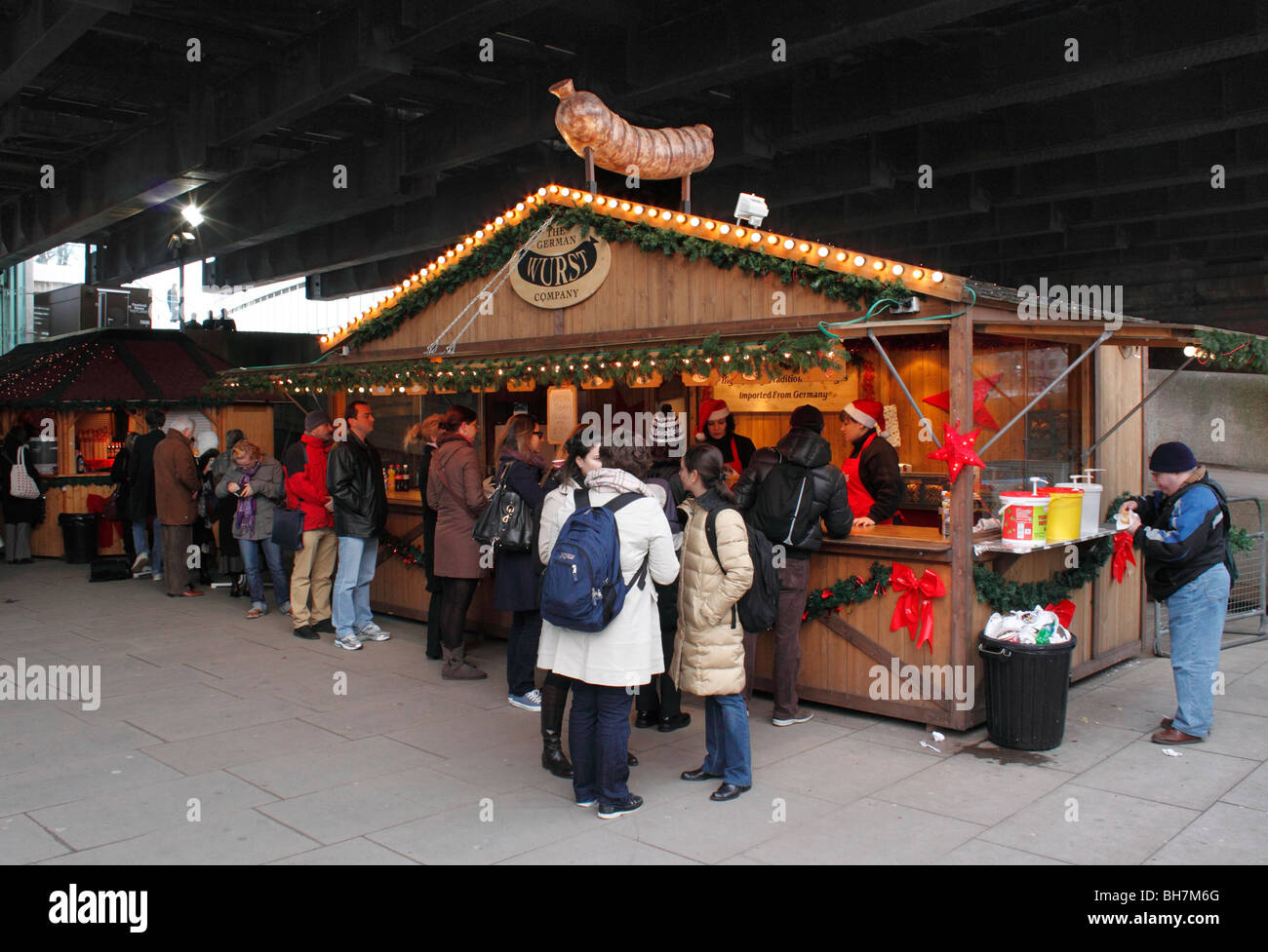 South Bank Food Market London