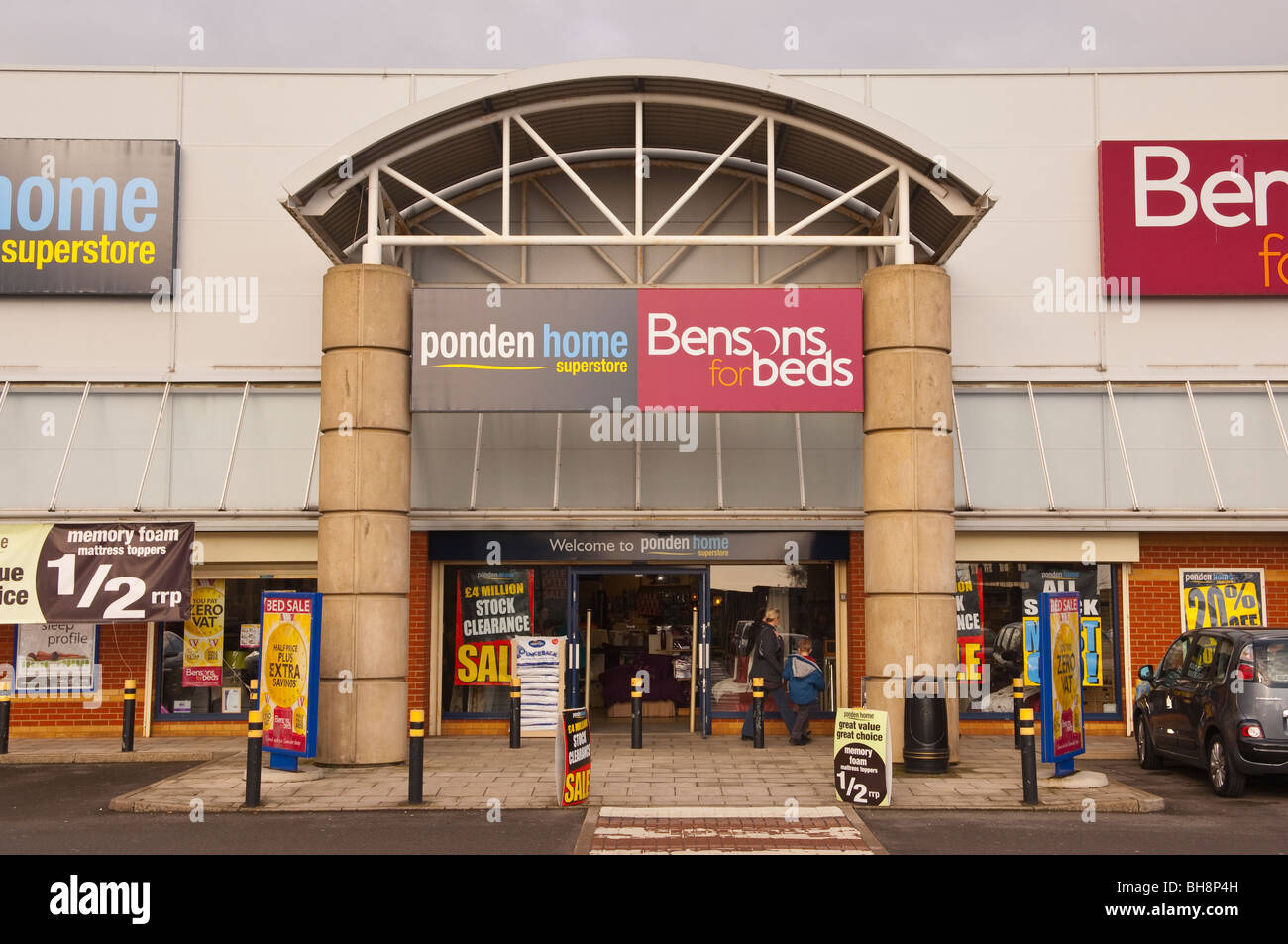 The Ponden Home Superstore And Bensons For Beds Shop Store In Norwich ,  Norfolk , England