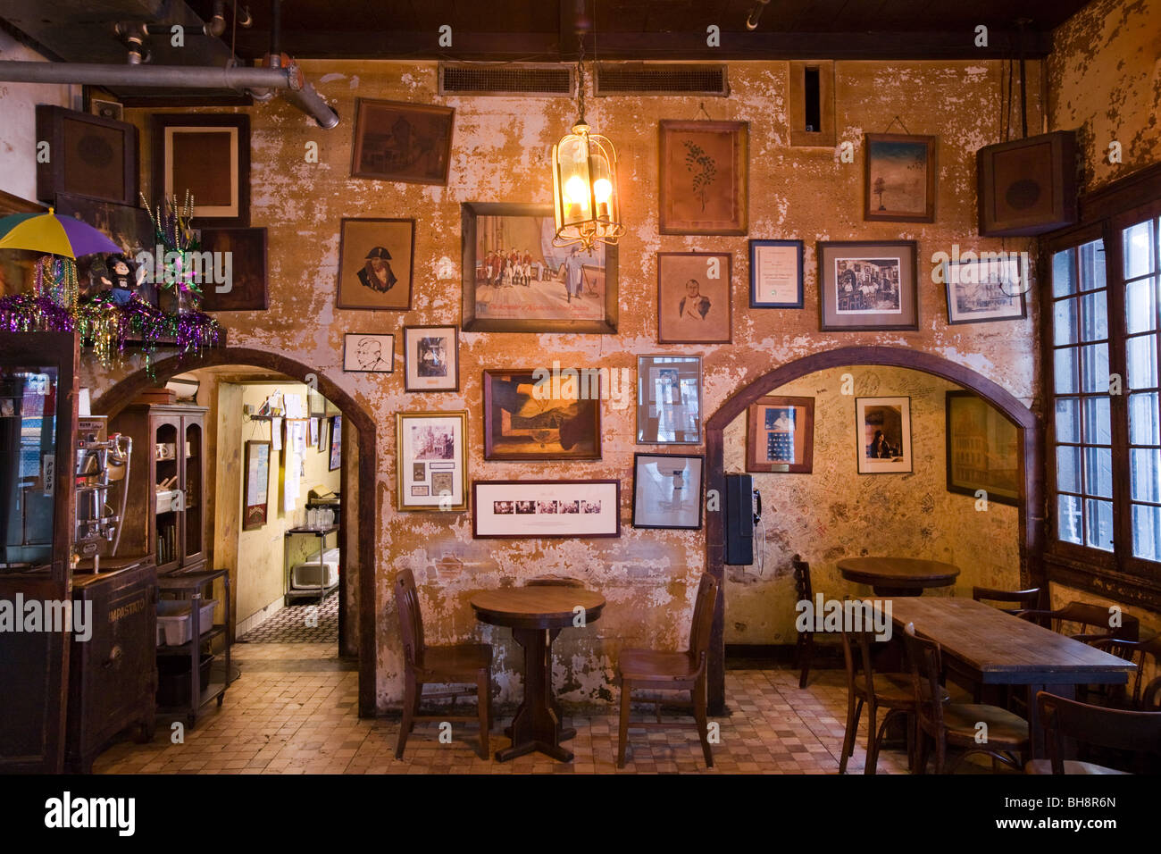Interior of the napoleon house french quarter new
