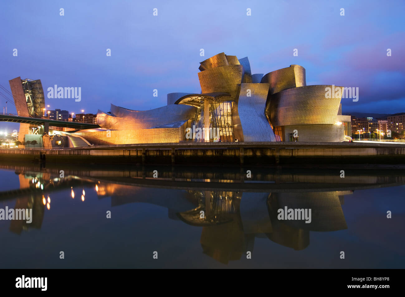 the guggenheim museum of modern by architect frank gehry stock photo royalty free image