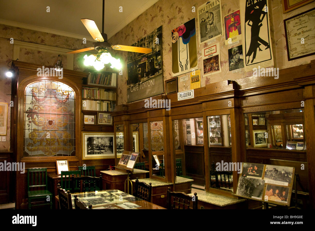 Library gran cafe torini buenos aires argentina town city for Artistic argentinean cuisine