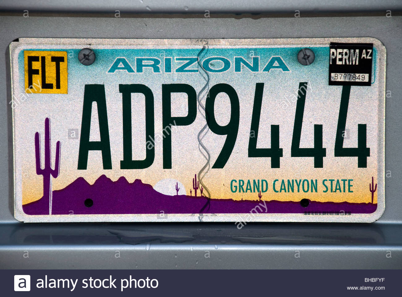 car number plate, USA Stock Photo, Royalty Free Image: 27913523 ...