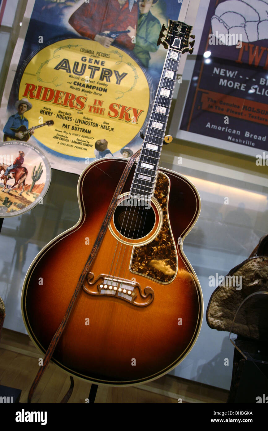 Exhibit Country Music Hall Of Fame And Museum Nashville - Music museums in usa