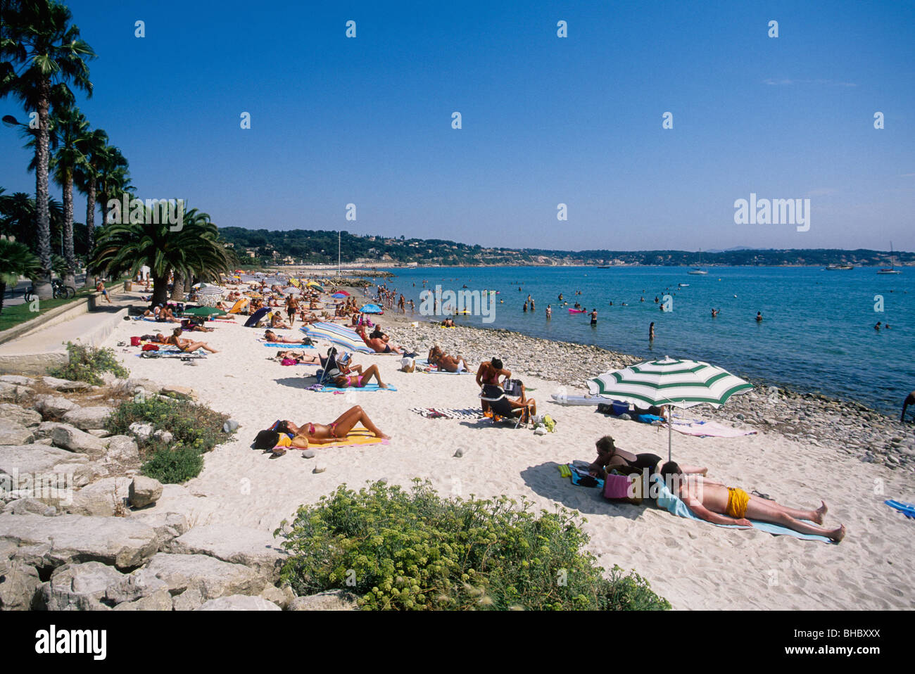 Beaches In Southern France Near Bandol Lively Holidays Scene In August