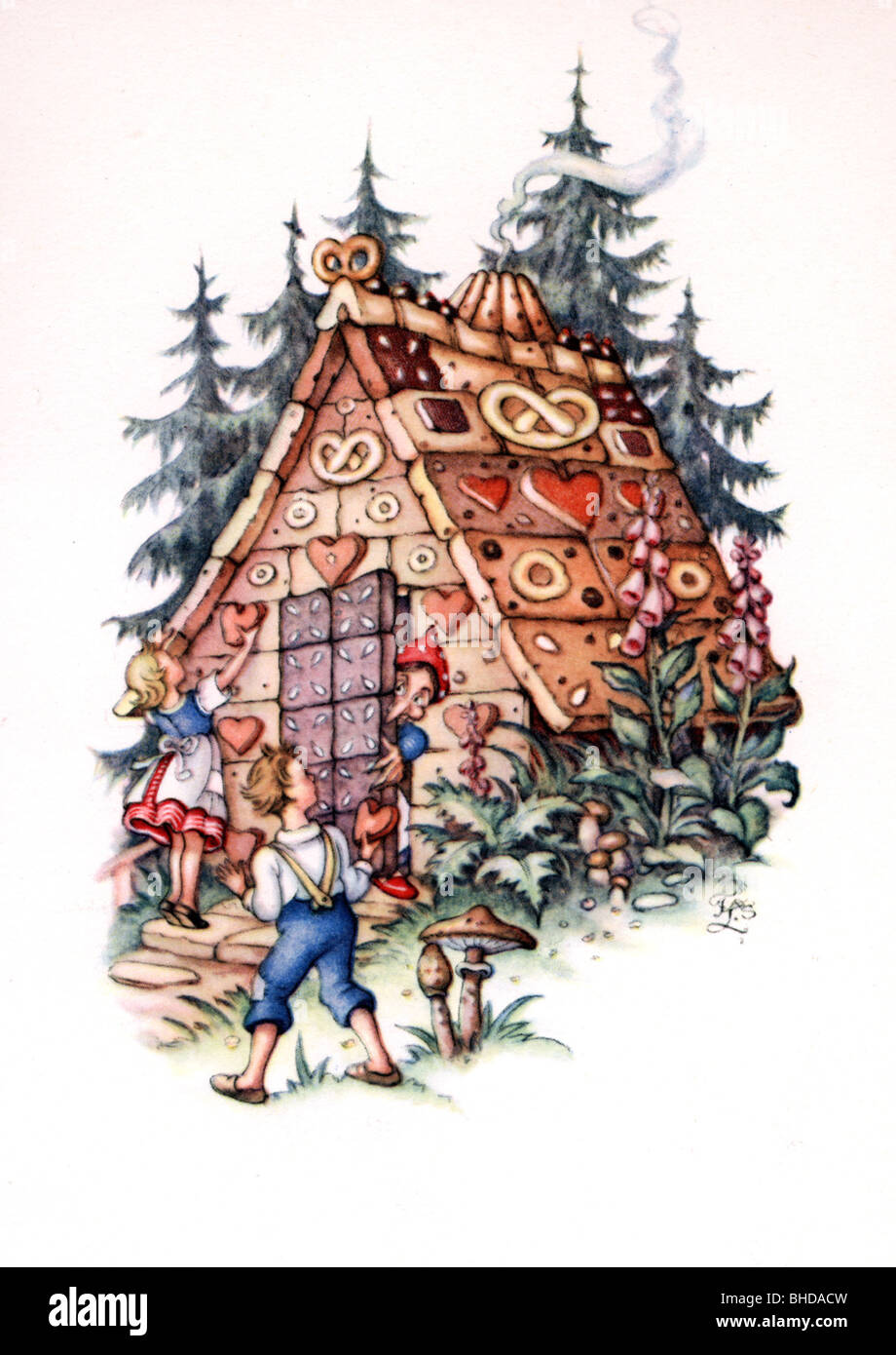 original hansel and gretel fairy tale