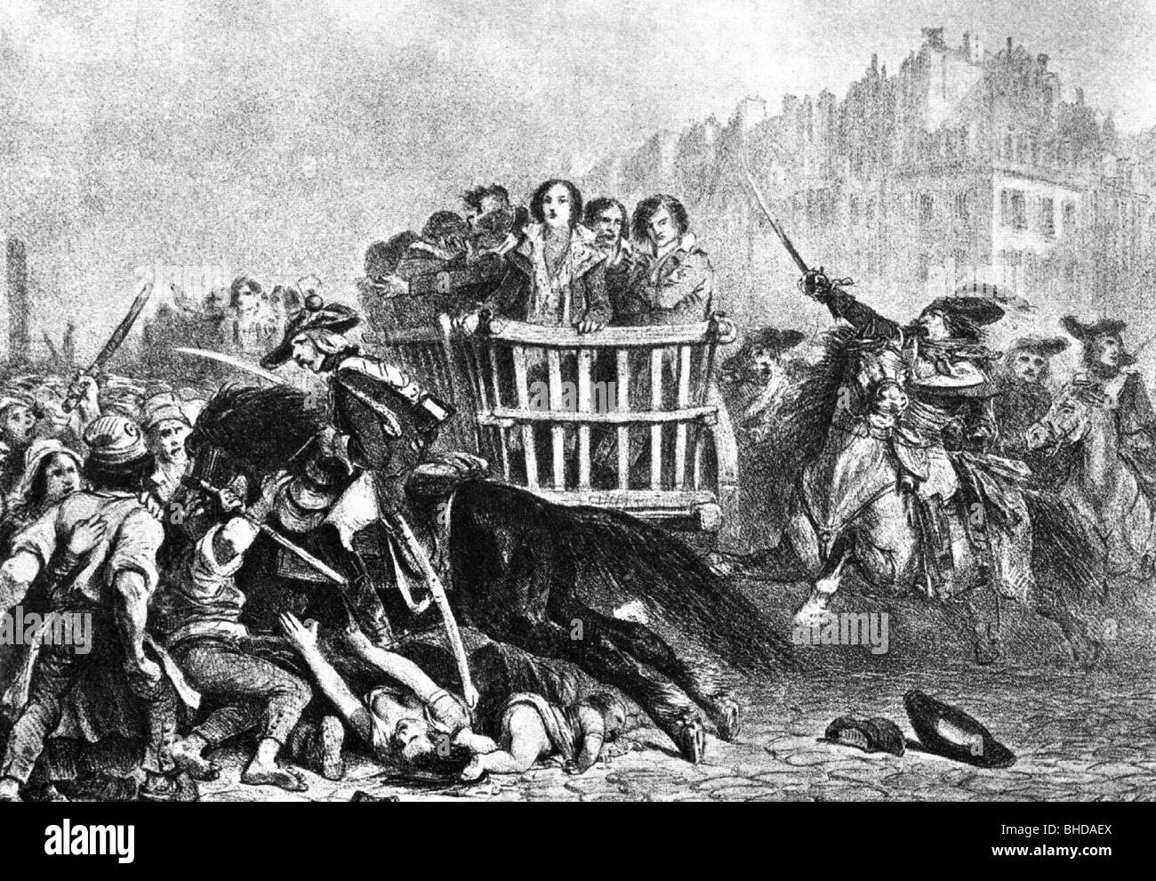 french revolution reign of terror The french revolution marks a stain in history, notorious for one of the bloodiest periods in modern civilization whether this infamous violence existed at the birth of the revolution or only during the terror has been the topic of.