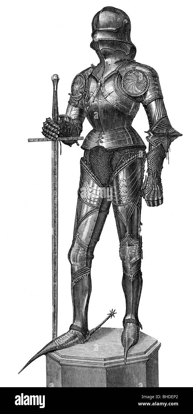 Knights Armor In The Middle Ages
