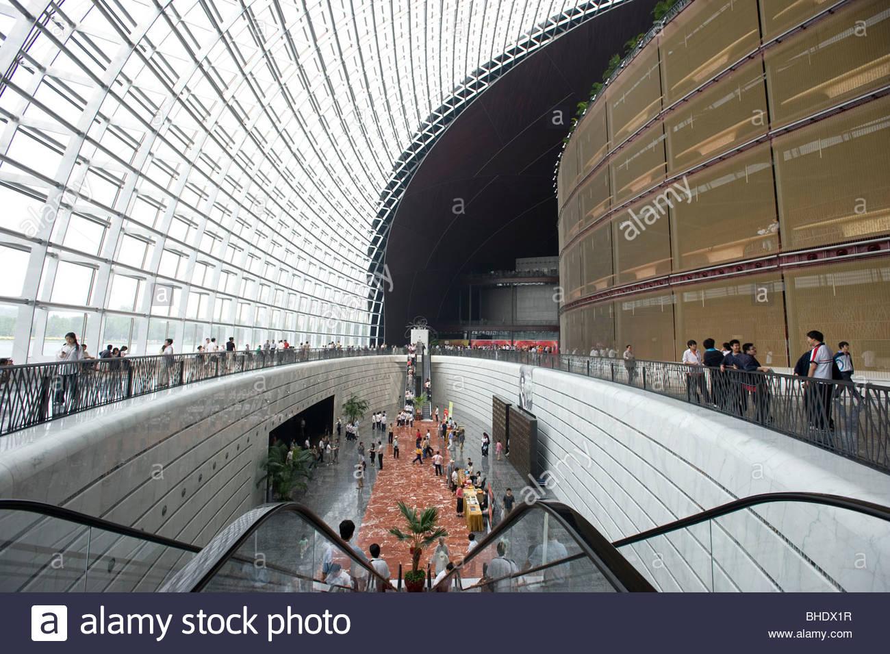 French Architect the opera designedfrench architect paul andreu, took nine