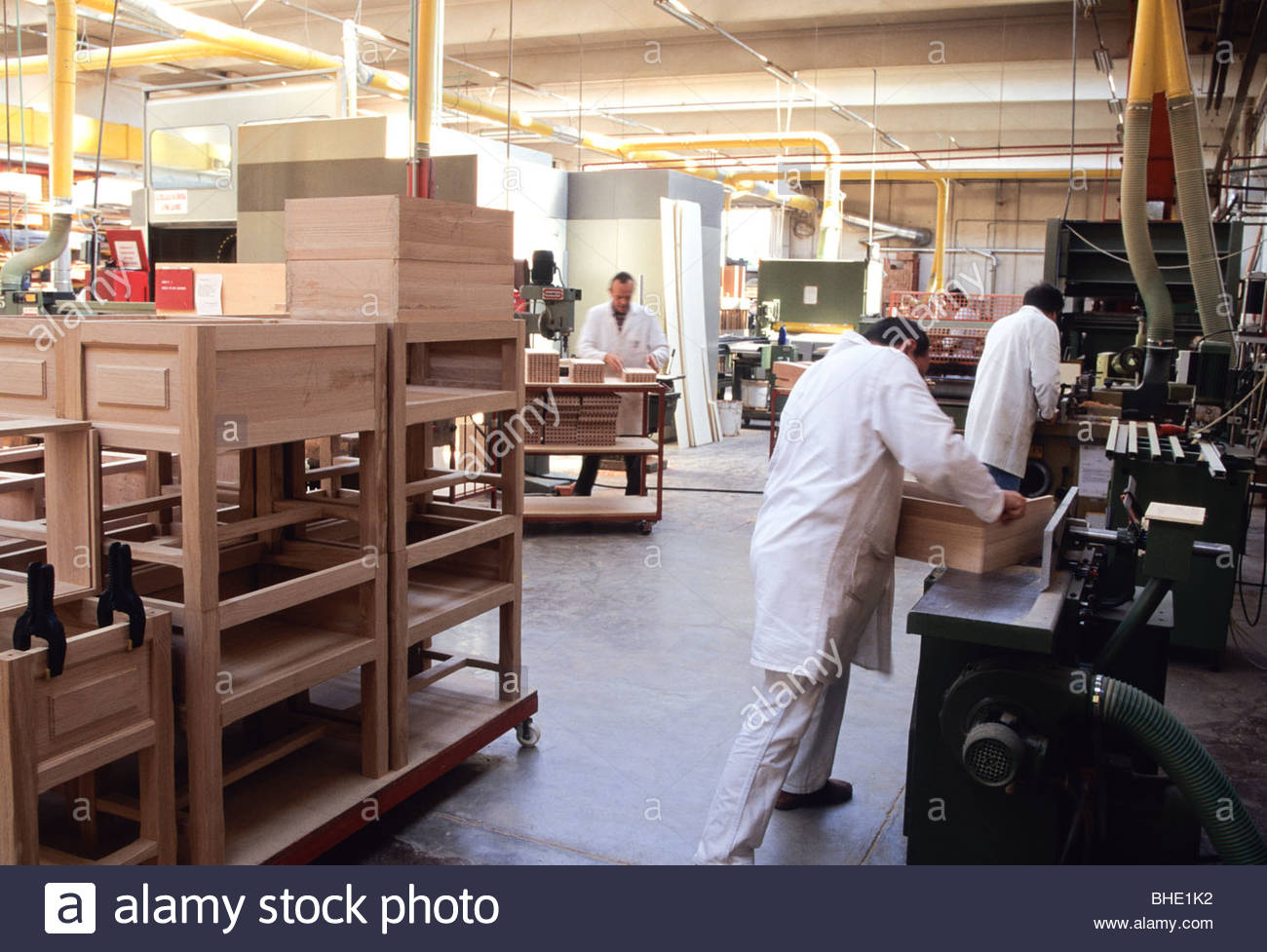 Furniture Factory Brianza Lombardia Italy Stock Photo Royalty Free Image 27968166 Alamy