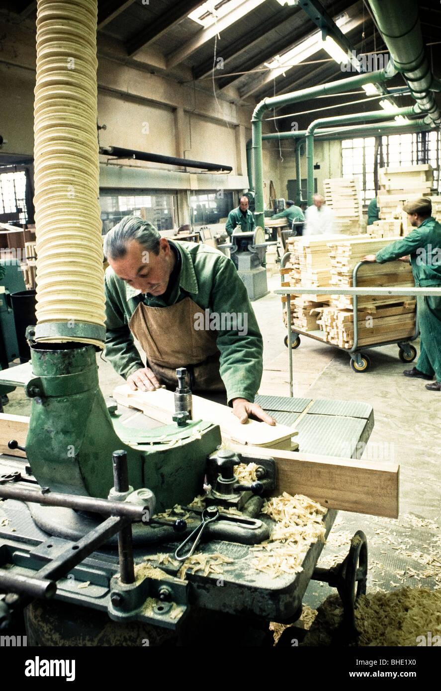 furniture, industry, brianza, lombardia, italy stock photo