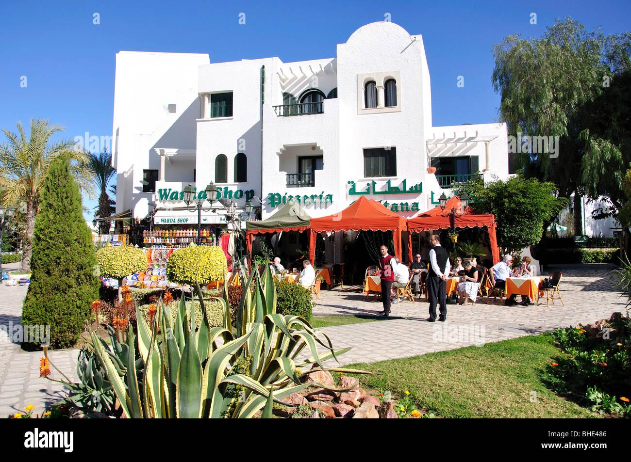 Outdoor restaurants maisons des jardins port el kantaoui - Location appartement port el kantaoui sousse ...