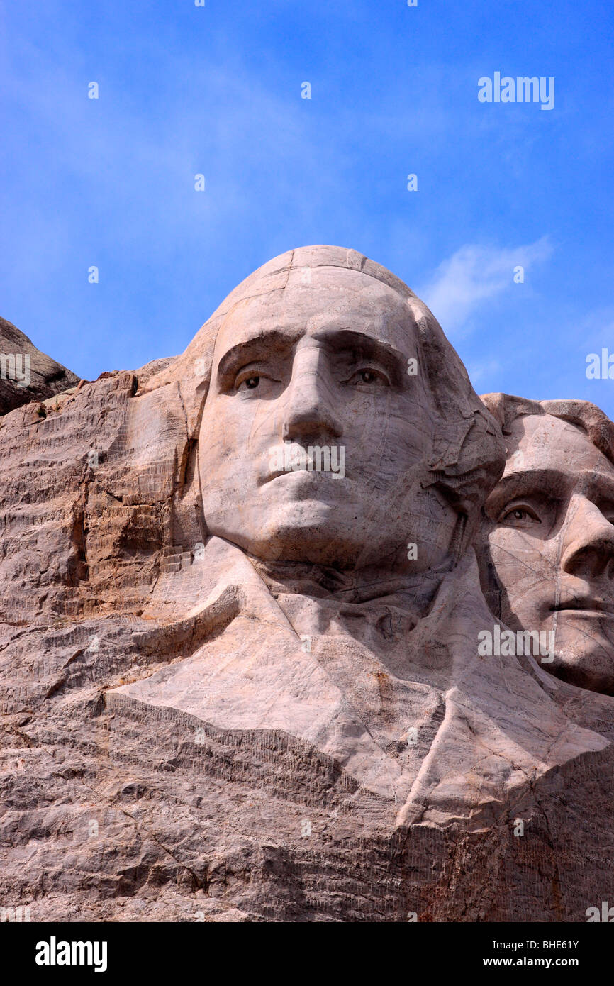 george washington the first president of the united states of america as depicted on mount rushmore national monument - Presidents Of The United States Of America