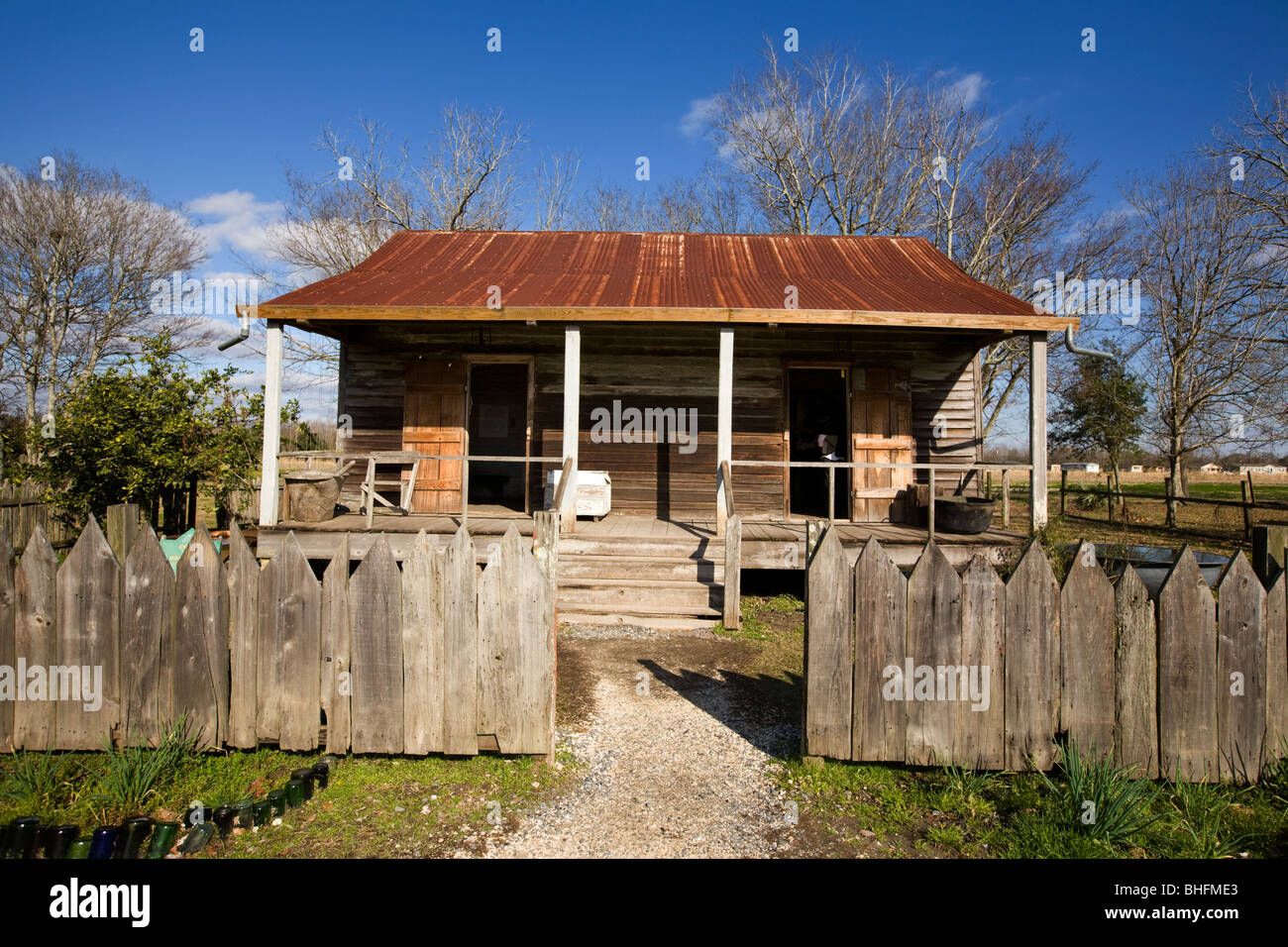 Slave Cabin At Laura Plantation, River Road, North Of New Orleans,  Louisiana, Home Of Brer Rabbit Stories