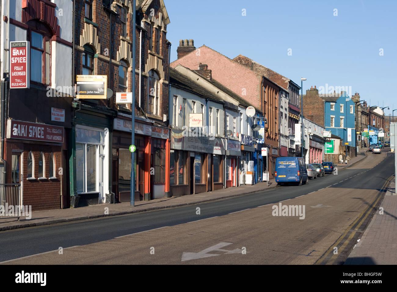 Waterloo Road Burslem Stoke-on-Trent & Waterloo Road Burslem Stoke-on-Trent Stock Photo: 28022677 - Alamy