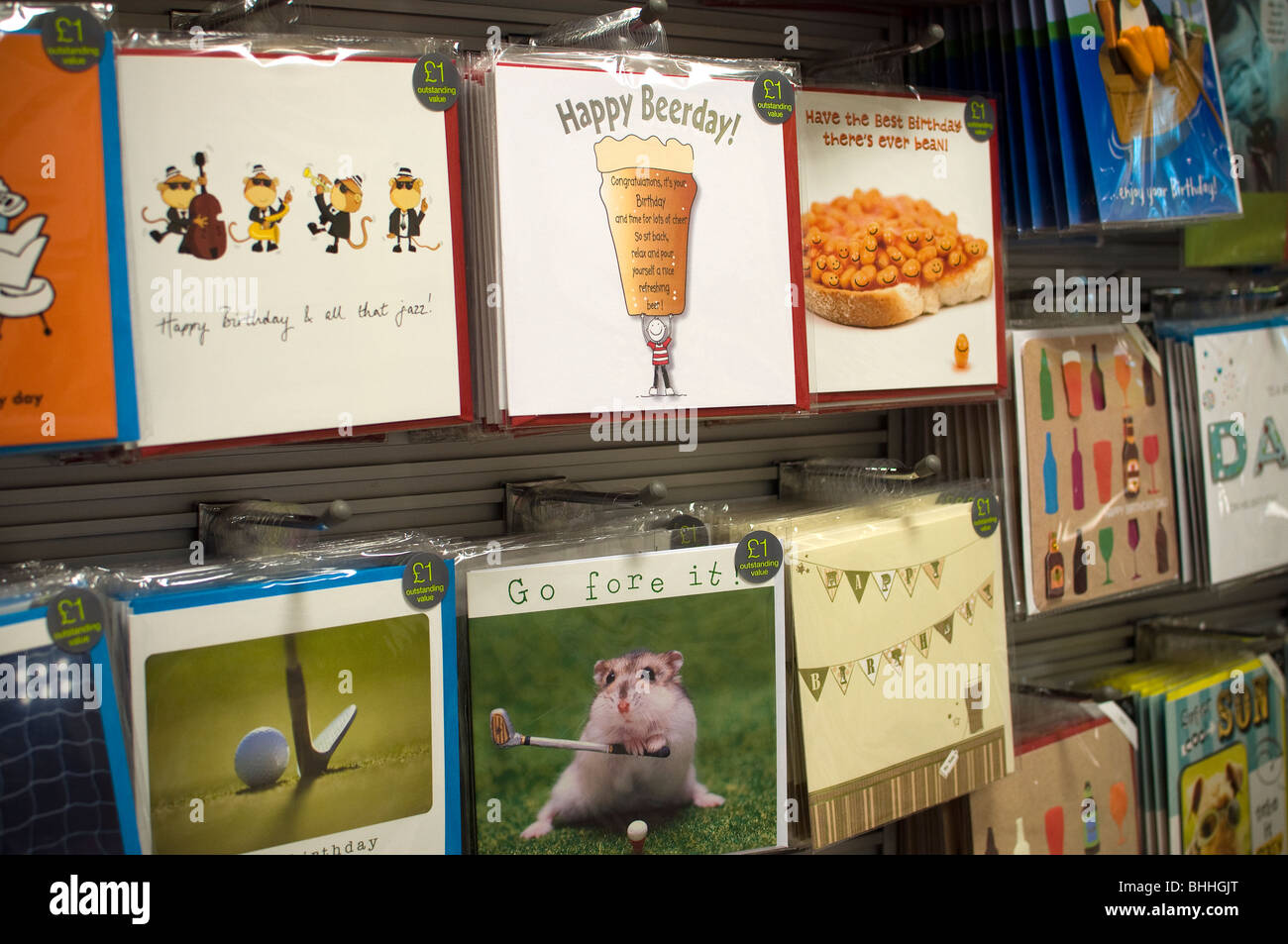 Marks and spencers greeting cards stock photo 28045776 alamy marks and spencers greeting cards kristyandbryce Image collections
