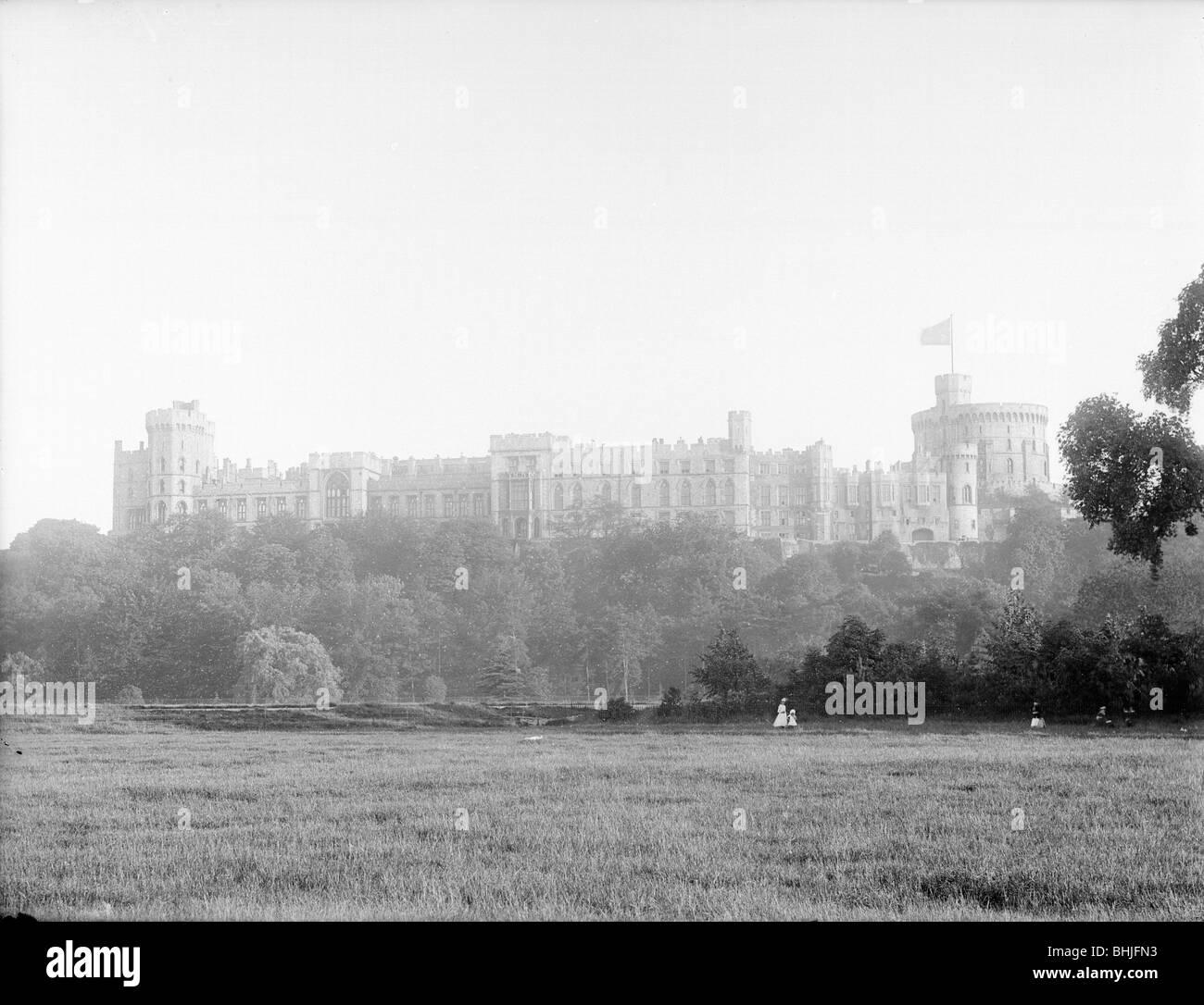 Windsor Castle From Home Park Berkshire C1860 C1922
