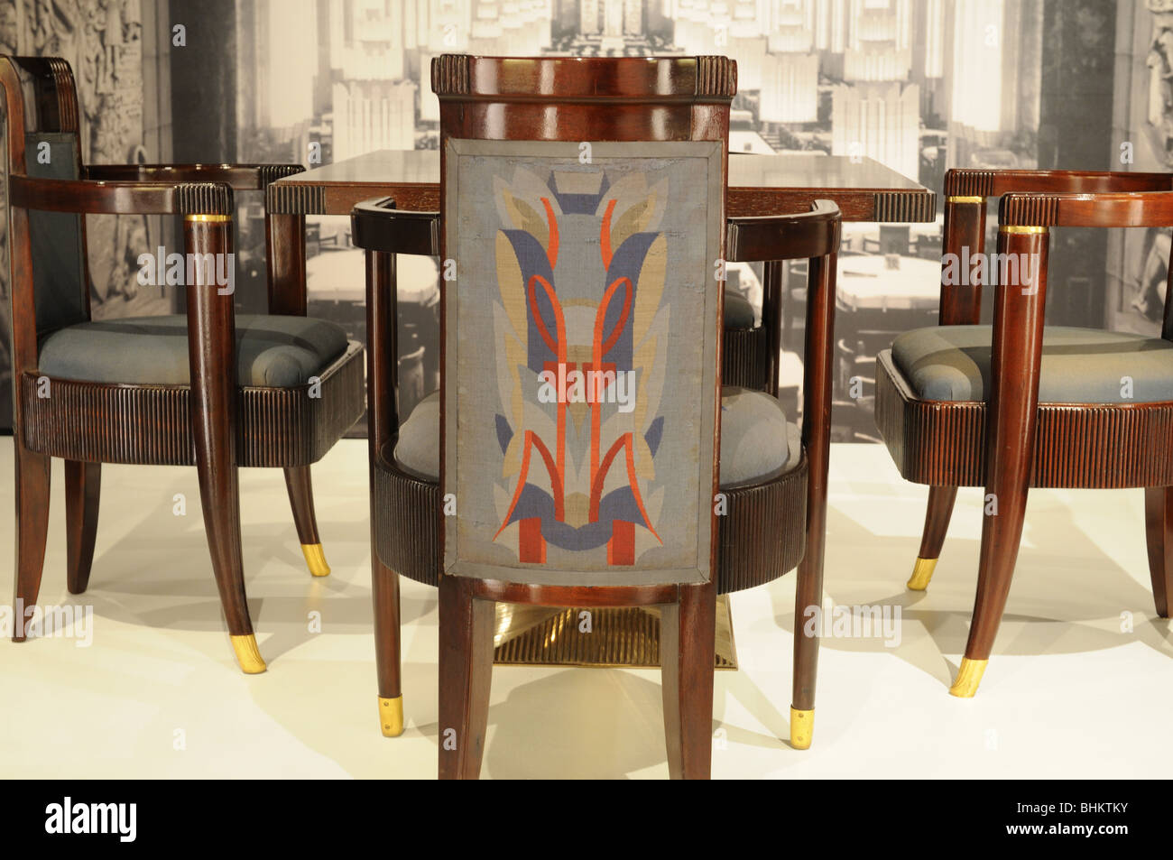 Chairs From The SS Normandieu0027s First Class Dining Room Are On Exhibit At  The South Street Seaport Museum In Manhattan Great Ideas