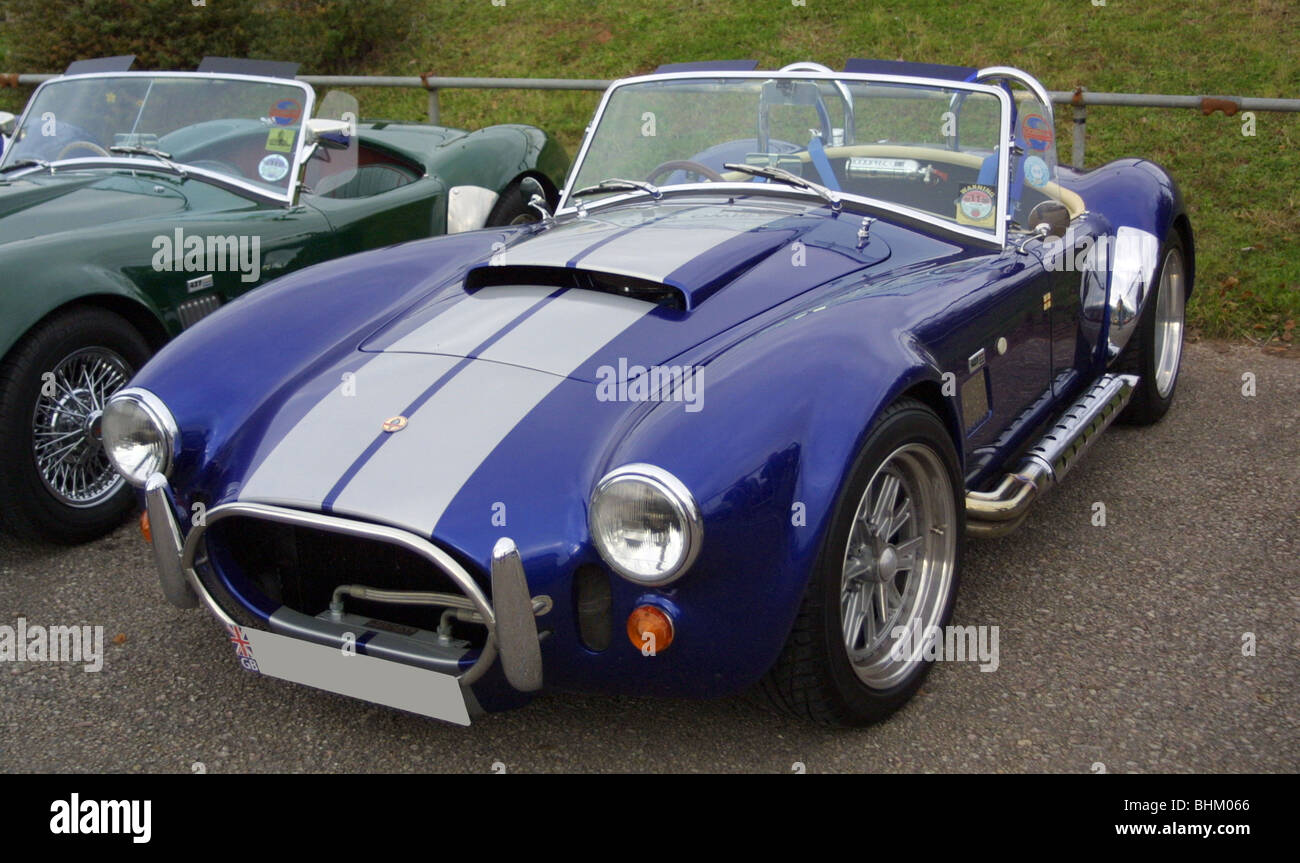 pair of ac cobra replica kit cars stock photo royalty free image 28098734 alamy. Black Bedroom Furniture Sets. Home Design Ideas
