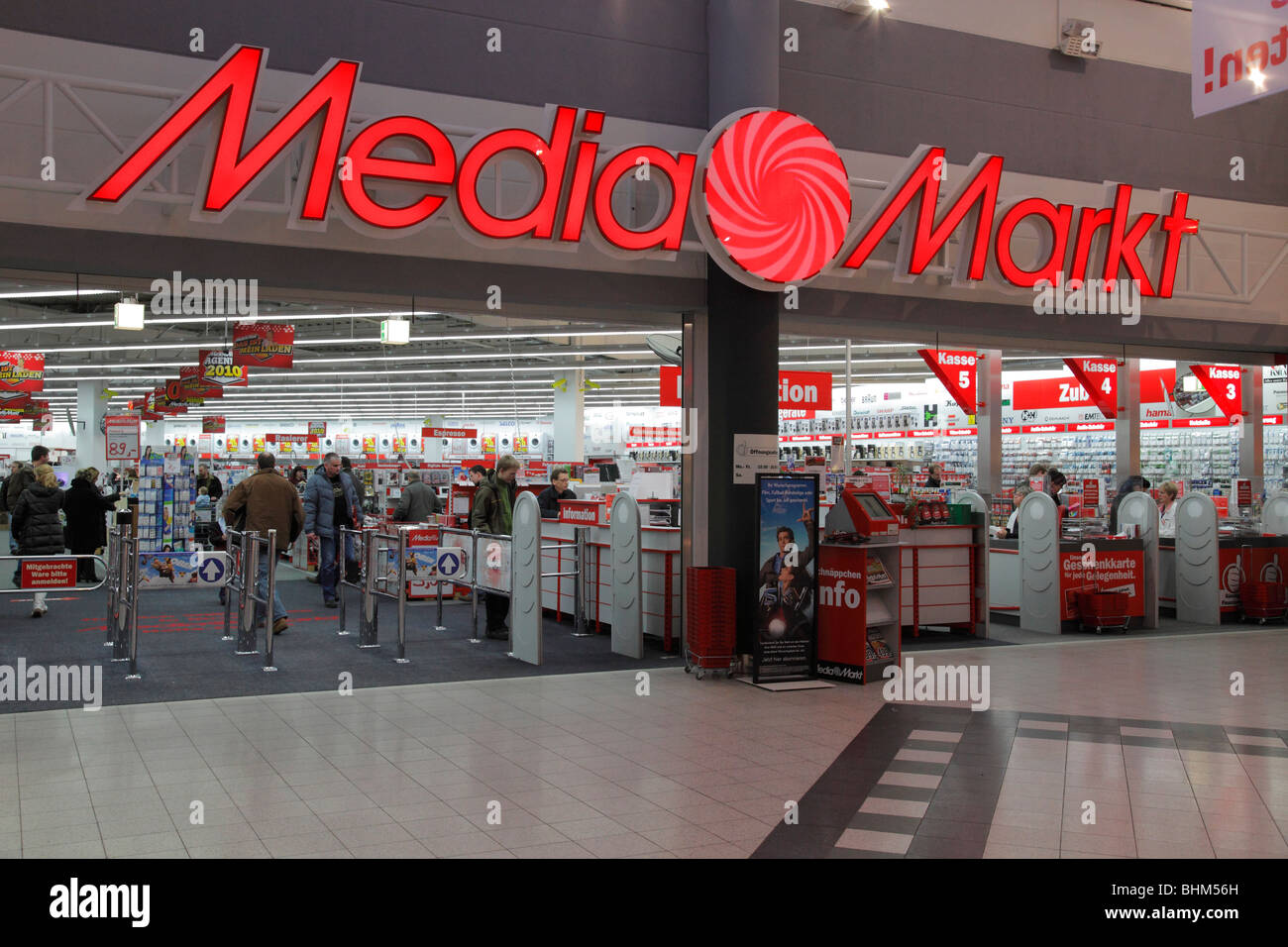 Media Markt in Halle Peißen, Germany Stock Photo, Royalty   -> Kuchnia Elektryczna Media Markt