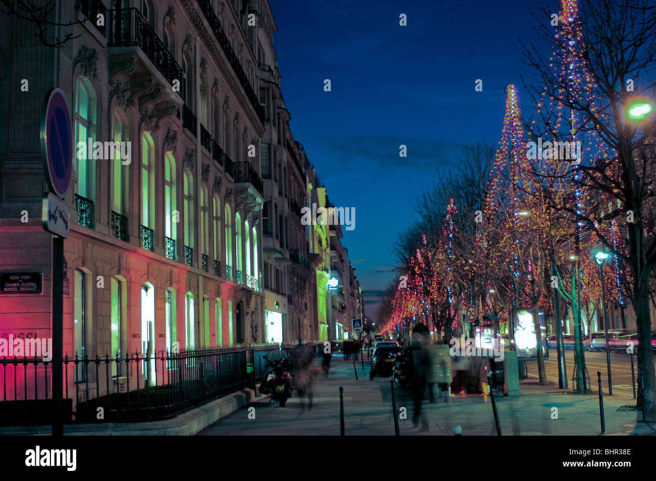 paris lighting street - photo #48