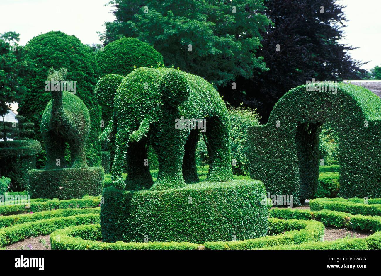 Green Animals Topiary Gardens Newport Rhode Island Stock Photo Royalty Free Image 28185021 Alamy