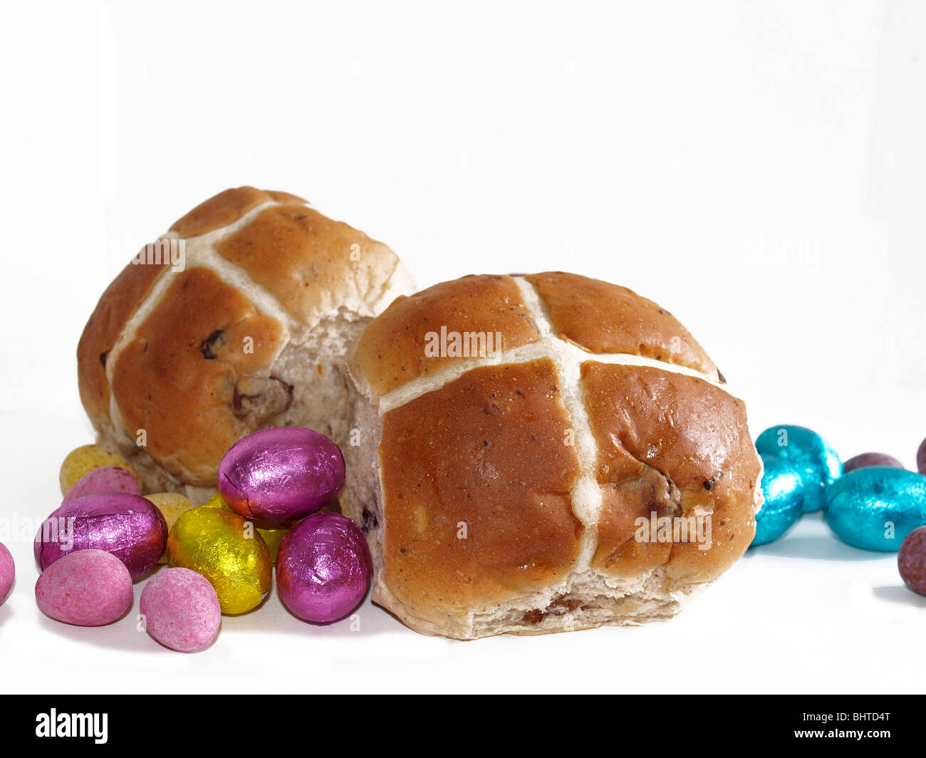 how to eat chocolate hot cross buns