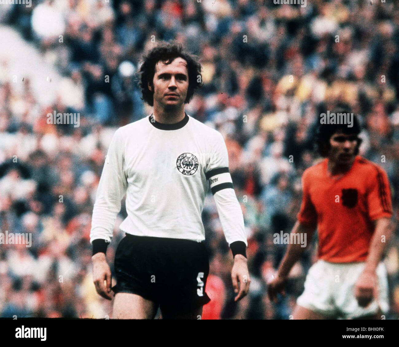 Football World Cup 1974 West Germany 2 Holland 1 in Munich Franz