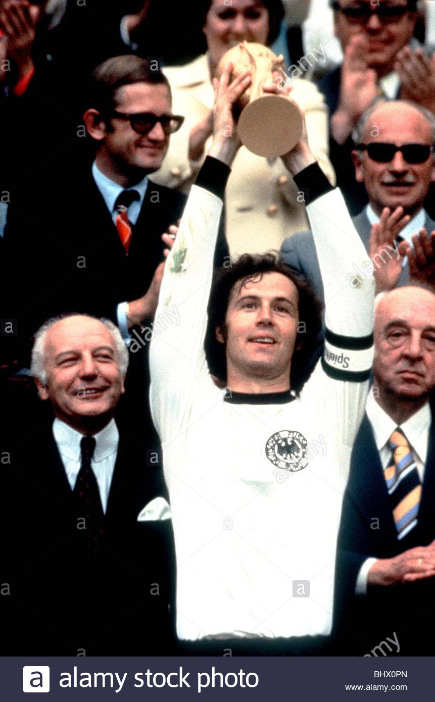 1974 World Cup Final at the Olympic Stadium in Munich West Germany