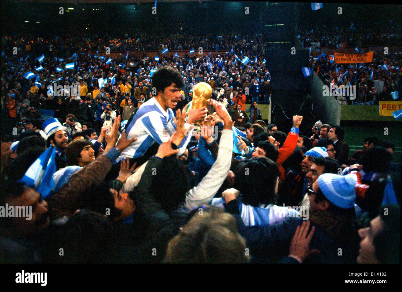 World Cup 1978 Final Holland 1 Argentina 3 after extra time