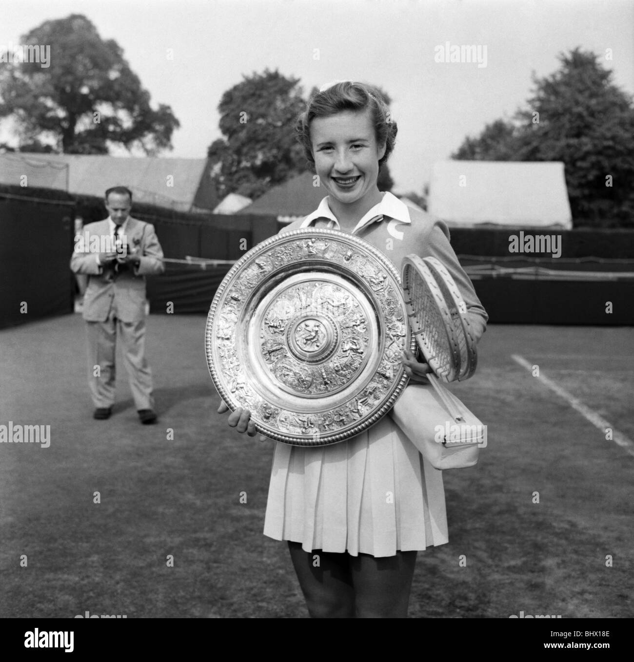 Sport Tennis Wimbledon 1953 Maureen Connolly Little Mo on