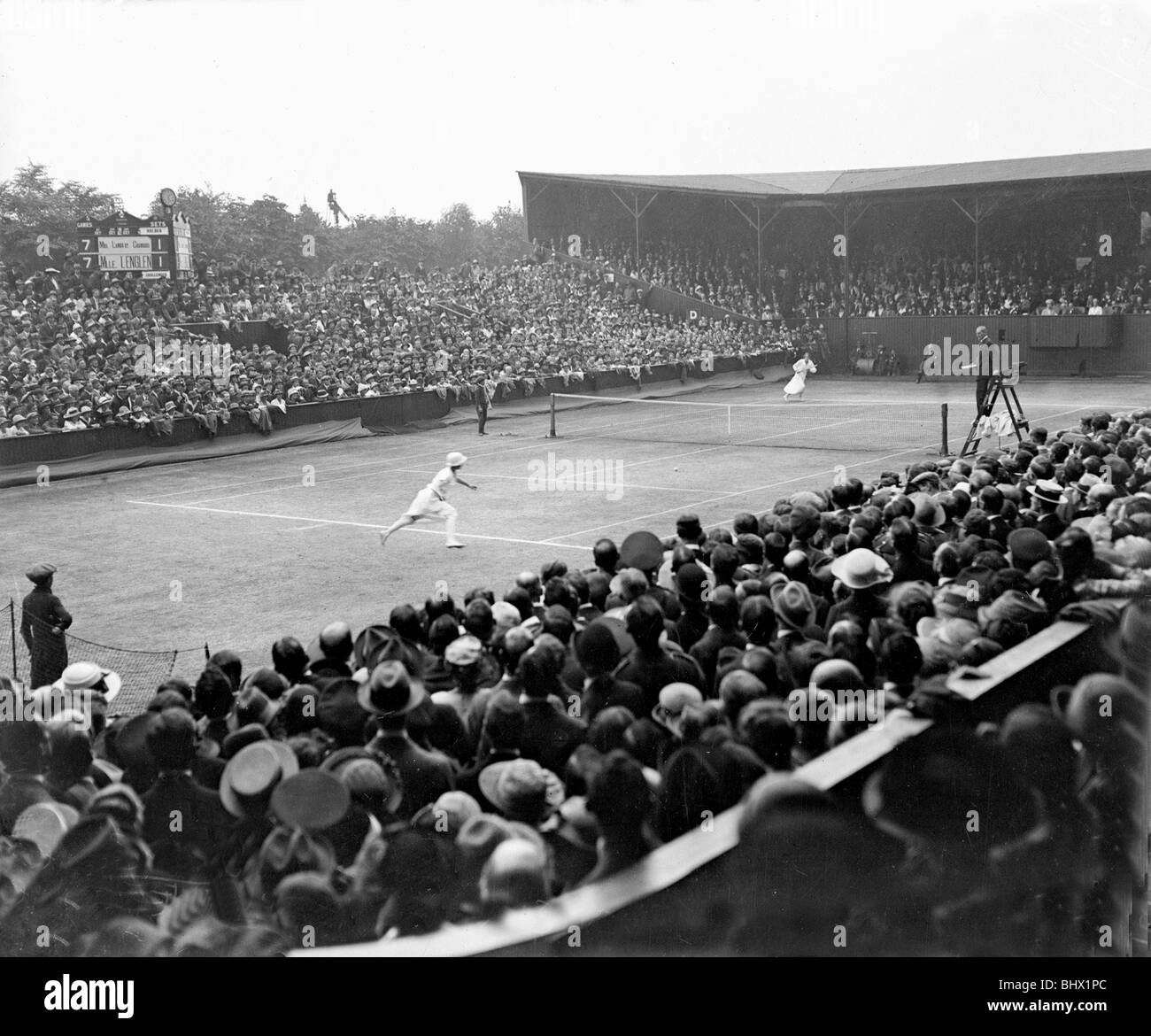 Suzanne Lenglen s first Wimbledon 1919 TennisForum