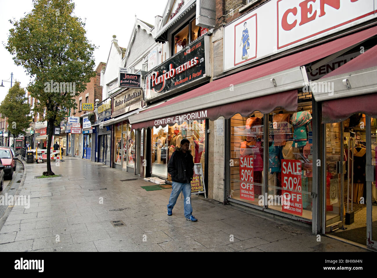 Asian shops in southall
