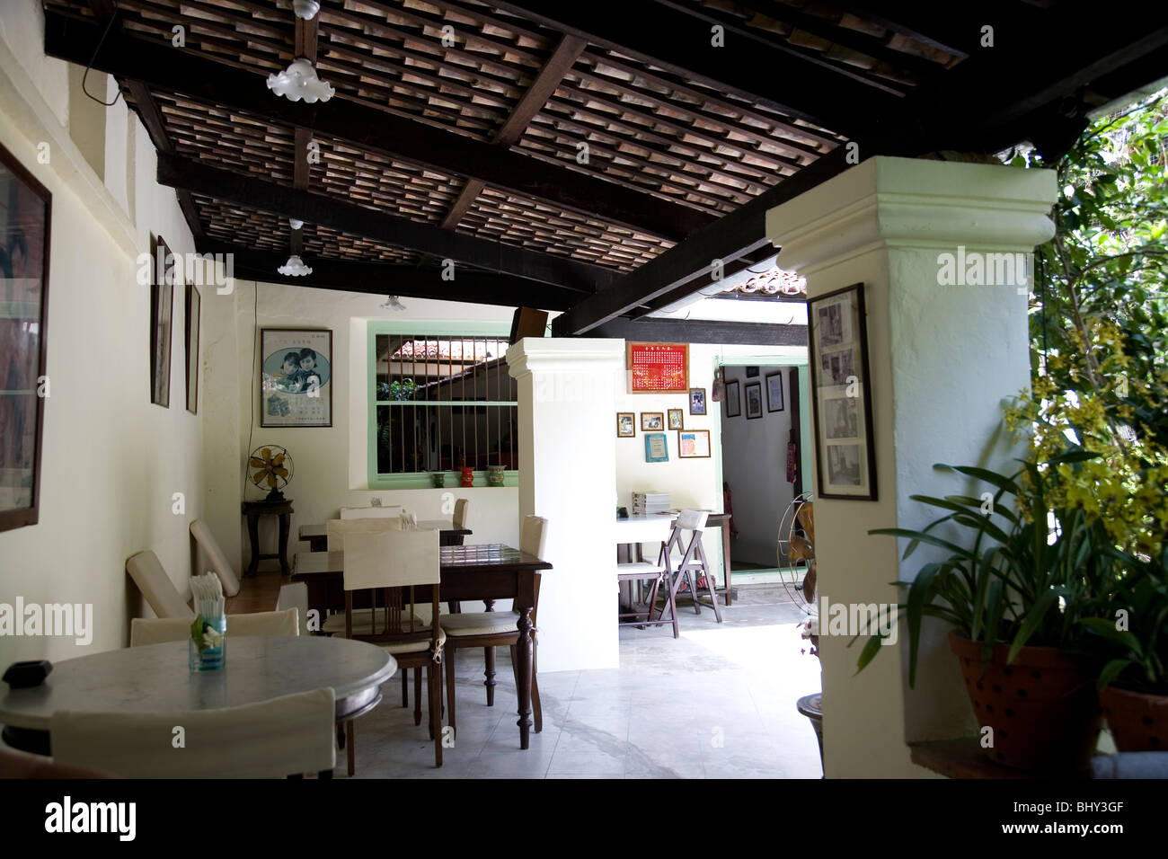 China Inn Caf And Restaurant Phuket Old Town Stock Photo Royalty