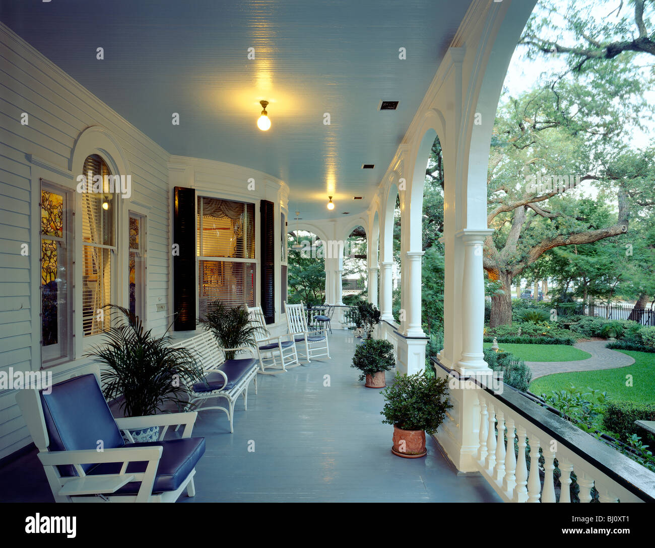 exterior porch view of two meeting street inn c1892 bed stock exterior porch view of two meeting street inn c1892 bed breakfast a queen anne mansion style home in charleston sc usa