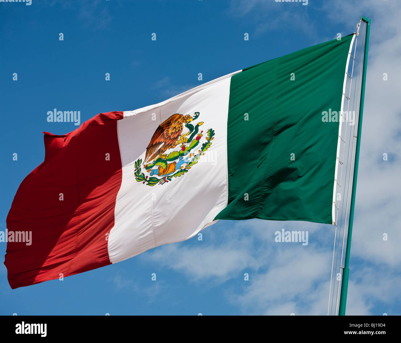 huge mexican flag outside tilum u0027s city hall a large crisp