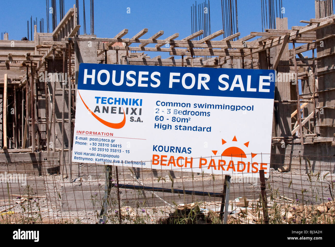 sign houses for sale new development of holiday homes