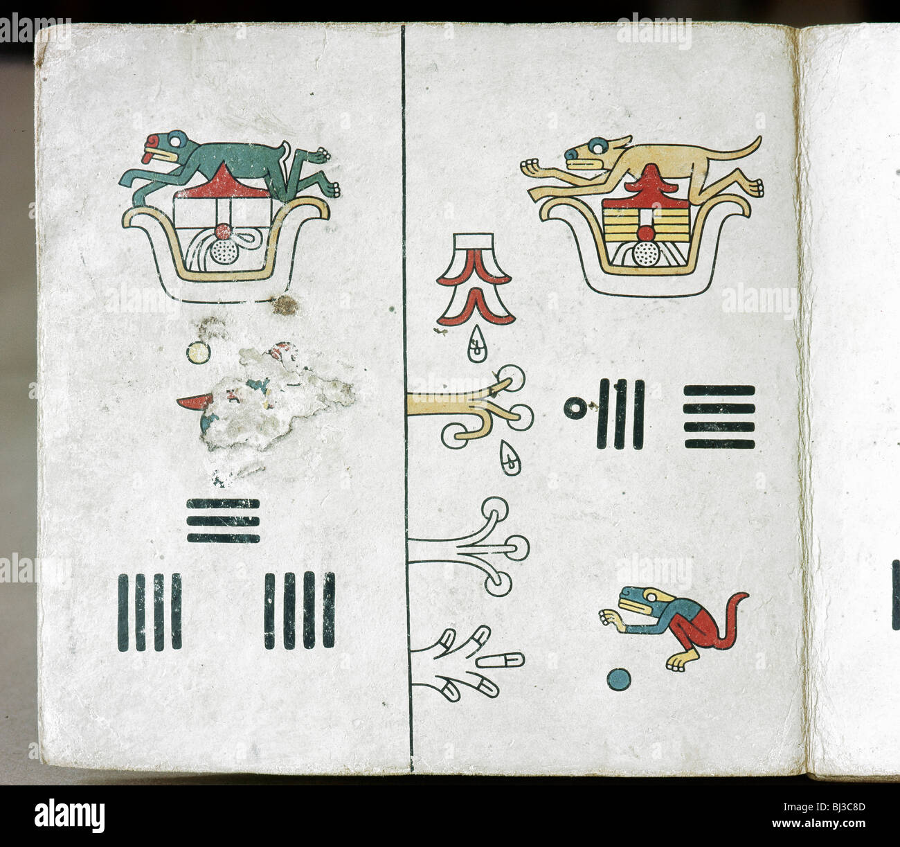 Page from the codex fejervary mayer with date symbols mixtec page from the codex fejervary mayer with date symbols mixtec mexico pre 1521 artist werner forman buycottarizona
