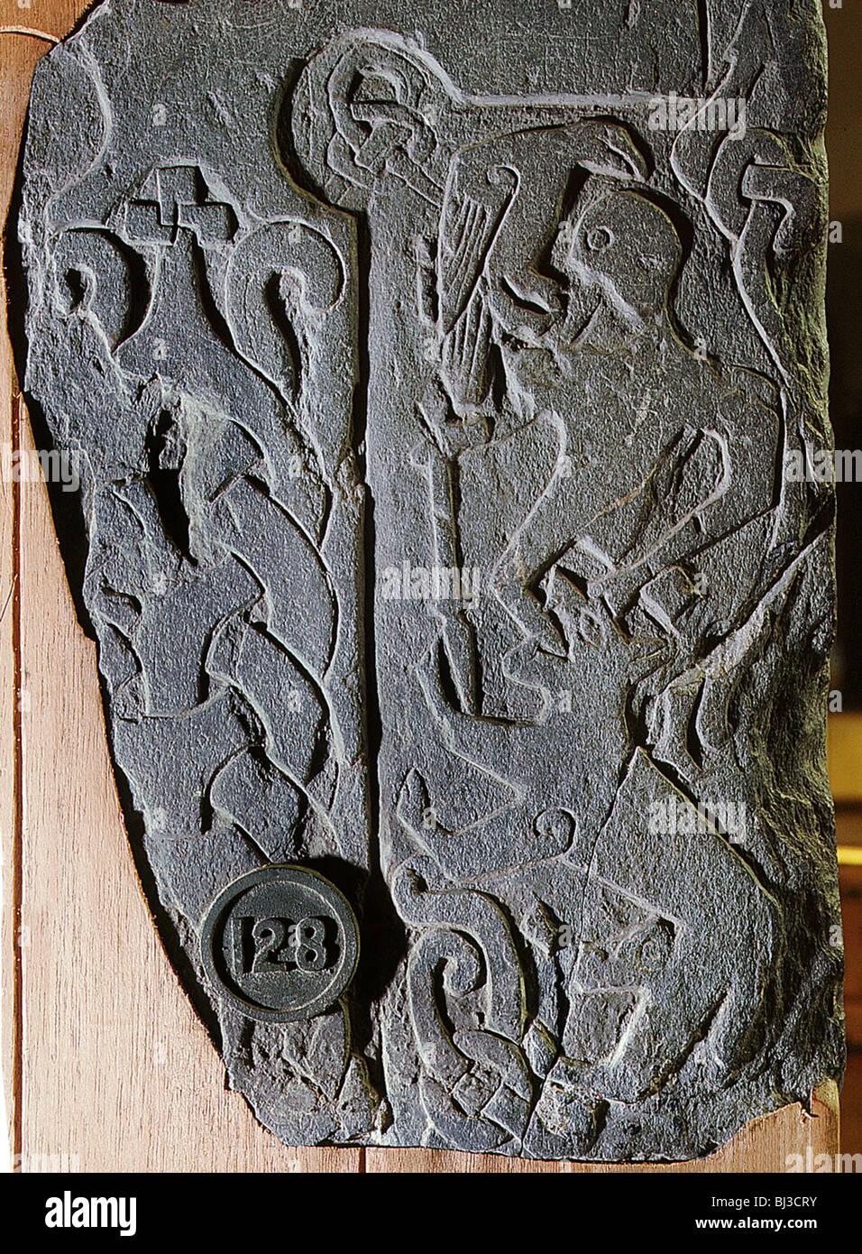 The andreas stone viking isle of man c artist