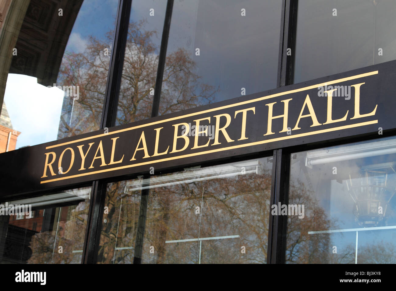 Entrance to the royal albert hall london stock photo for Door 8 royal albert hall