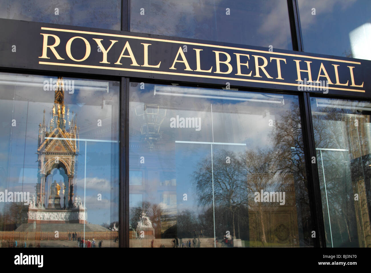 Entrance to the royal albert hall with the royal albert for Door 8 royal albert hall