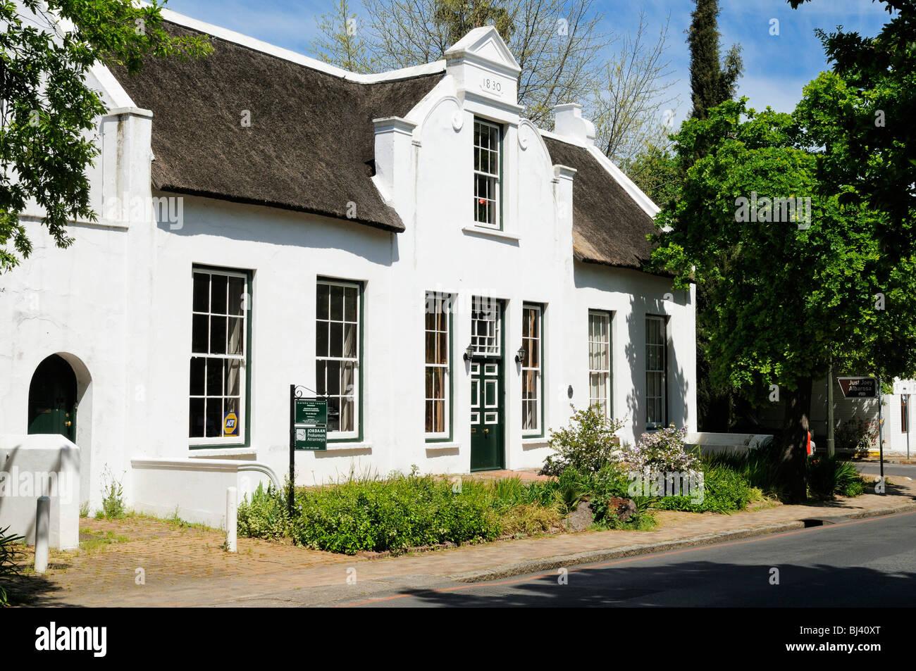 House cape dutch style dorp street stellenbosch cape for Dutch house