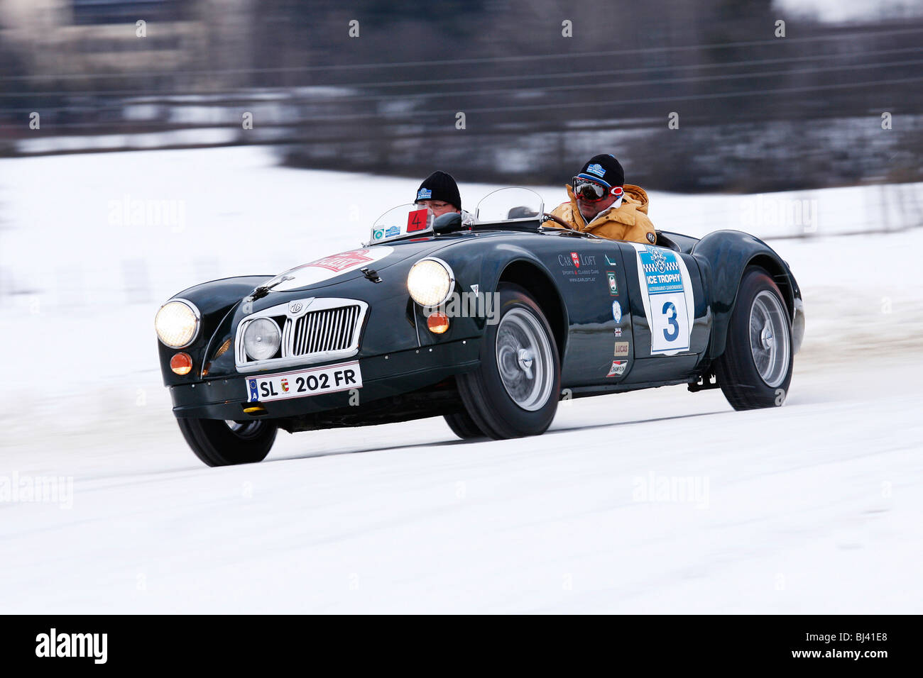 MG A Le Mans, built in 1960, classic cars winter race, Historic ...