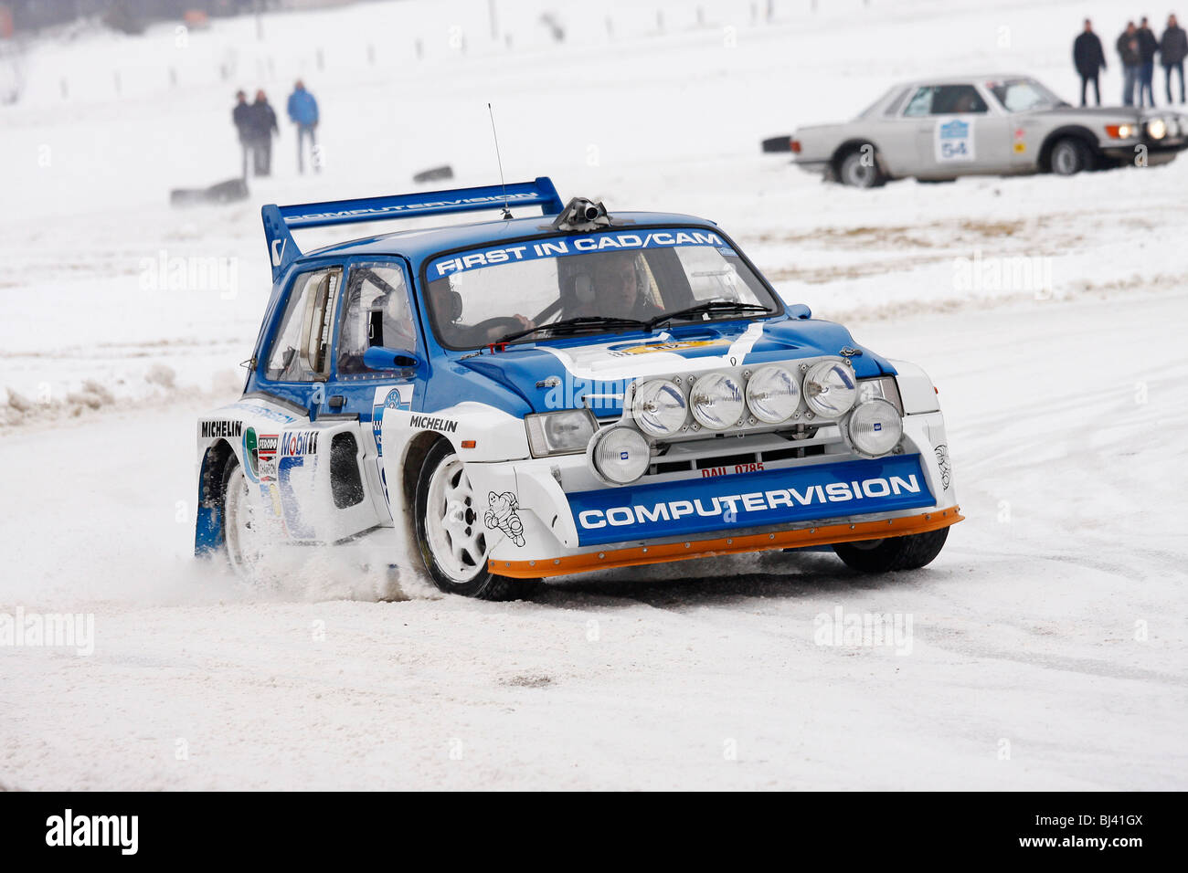 MG Metro 6R4, built 1986, former World Rally Championship car ...